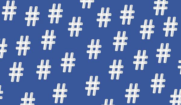 hashtag di facebook